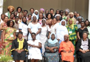 Attendees at the conference in Ghana