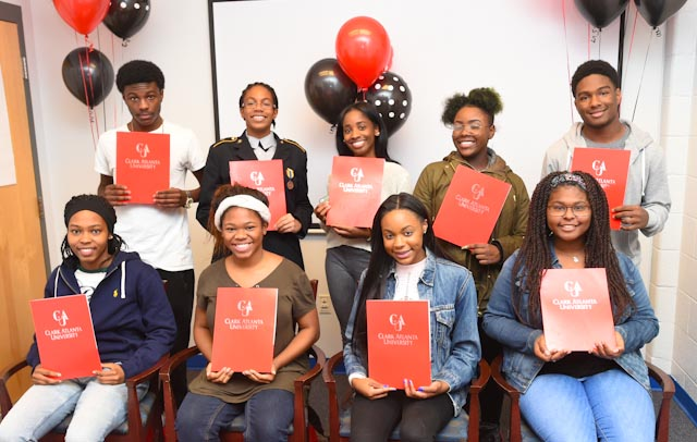 Atlanta Area High School Students Surprised With Nearly $200k in Clark Atlanta University Scholarships